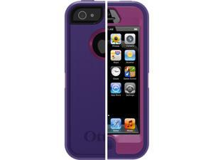 OtterBox Defender Series Case for Apple iPhone 5 (Pop Purple/Violet Purple)