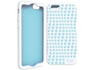 "ILUV AI6AURWWH iPhone(R) 6 4.7"" Aurora Wave Case (White)"