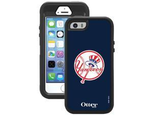 OTTERBOX 77-37147 iPhone(R) 5/5s Defender Series(R) Case with Belt Clip Holster (New York Yankees(R) Throwback)