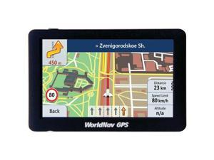 "WorldNav 5880 High-Resolution 5"" Truck GPS with Bluetooth(R)"