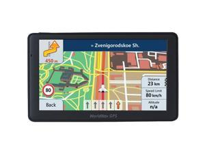 "TELETYPE 769060 WorldNav 7690 High-Resolution 7"" Truck GPS Device with Bluetooth(R)"