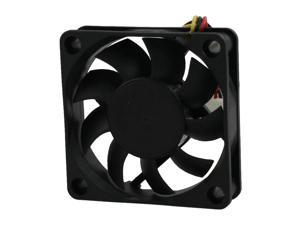 DC 12V Desktop Computer PC Case 3 Pin Cooler Cooling Fan 60mm x 60mm x 15mm