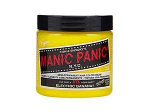 Manic Panic Semi Permanent Hair Color Cream Electric Banana 4 oz