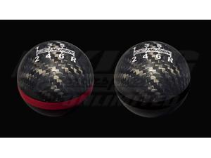 Mugen Carbon Fiber Spherical Shift Knob - 6MT