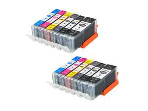 Superb Choice® Compatible ink Cartridge for Canon PGI-270XL/CLI-271XL use in CANON PIXMA MG5720 MG5721(2 sets)