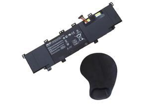 Original OEM Battery for Asus S300 ( 6 Cell, 44WH ) - Includes Mouse Pad With Wrist Rest Pillow