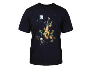 Minecraft Tight Spot Adult Mens T-Shirt