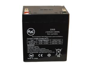 APC BackUPS Office 400 12V 5.5Ah UPS Battery : AJC Brand Replacement