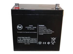 Golden GP-201 HD 12V 55Ah Wheelchair Battery : AJC Brand Replacement