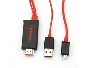 Baaqii CB091 4M MHL Micro USB To HDMI HDTV Adapter Cable 4 Samsung Galaxy SII S2 HTC Flyer LG