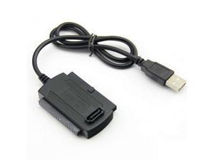 Baaqii A169 3 in 1 USB 2.0 to IDE SATA 2.5 3.5 Hard Drive HD HDD Adapter Converter Cable