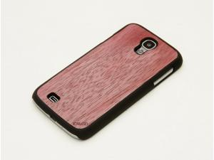 CARVED Purpleheart Real Wood Galaxy S4 Matte Black Case - Wood