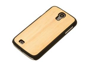 CARVED Natural Bamboo Real Wood Galaxy S4 Matte Black Case - Wood