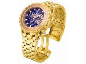 Invicta Men's 14033 Subaqua Quartz 3 Hand Blue Dial Watch