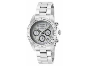 Men's Speedway Chronograph White Dial Stainless Steel