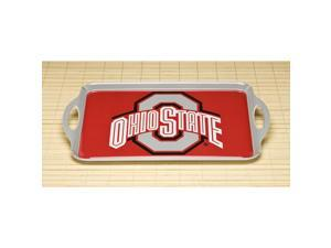 BSI PRODUCTS 38055 Melamine Serving Tray- Ohio State Buckeyes