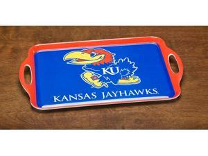 BSI PRODUCTS 38014 Melamine Serving Tray- Kansas Jayhawks