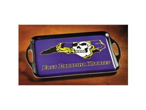 BSI PRODUCTS 38028 Melamine Serving Tray- East Carolina Pirates