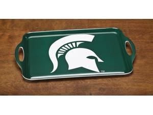 BSI PRODUCTS 38029 Melamine Serving Tray- Michigan State Spartans