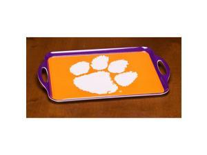 BSI PRODUCTS 38025 Melamine Serving Tray- Clemson Tigers