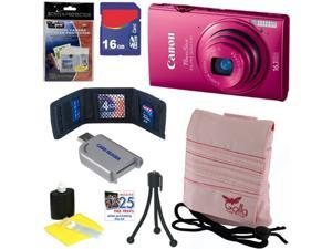 """CANON PowerShot ELPH 320 HS 16.1 MP Wi-Fi Enabled CMOS Digital Camera with 5x Zoom Lens, HD Video and 3.2"""" Touch Panel LCD ..."""