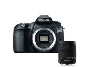 "Canon 60d EOS 60D 18MP CMOS Digital SLR Camera w/ 3"" LCD Body + Sigma 18-200mm f/3.5-6.3 II DC OS HSM Lens"