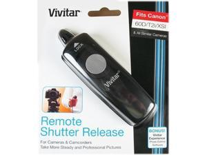 Vivitar Wired Remote Shutter Release for Canon Pentax Samsung DSLR Cameras. - Canon EOS 60D