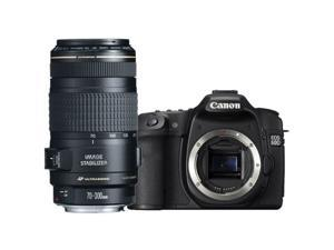 "Canon 60d EOS 60D 18MP CMOS Digital SLR Camera w/ 3"" LCD Body + Canon 70-300/4.0-5.6 EF IS Image Stabilized USM Autofocus ..."