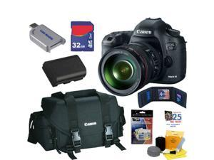 CANON EOS 5D Mark III 22.3 MP Full Frame CMOS Digital SLR Camera with EF 24-105mm f/4 L IS USM Lens + Canon Gadget Bag + ...