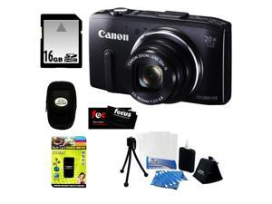 Canon PowerShot SX280 HS Digital Camera with 16 Gigabyte Memory Card + Multi Card Reader Writer + HDMI To Mini-HDMI Cable ...