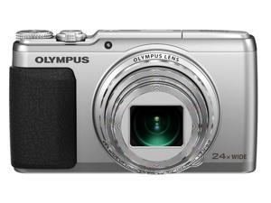 Olympus SH-50 iHS Digital Camera (Silver)