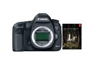 Canon 5D EOS 5D Mark III 22.3 MP Full Frame CMOS with 1080p Full-HD Video Mode Digital SLR Camera (Body) + Adobe Photoshop Ligthroom 5 OEM PC/MAC