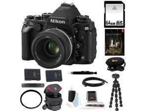 Nikon Df 16.2 MP CMOS FX-Format Digital SLR Camera Nikon Df 16.2 MP CMOS FX-Format Digital SLR Camera with AF-S NIKKOR 50mm ... - OEM