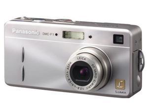 Panasonic DMC-F1S Lumix 3.2MP Digital Camera Silver USA
