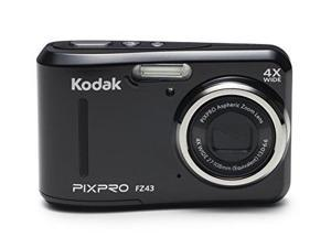 Kodak PixPro FZ43 Compact Digital Camera 16MP 4X Zoom HD 720P (Black)