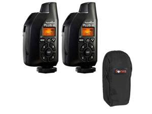 PocketWizard 801-130 Plus III Transceiver (2 Pack With Case)