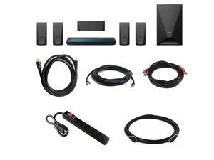 Sony BDV-E3100 5.1 Channel 3D Blu-ray Theater System w/ 10' Digital Optical Audio Cable & 6' HDMI Cable Bundle