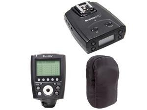 Phottix Odin II TTL Flash Trigger Receiver for Canon w/  TTL Flash Trigger Transmitter & PocketWizard Pouch