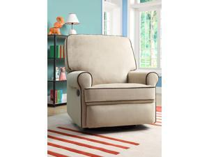 Birch Hill Swivel/Glider Recliner - Stella Doe w/Coffee Piping