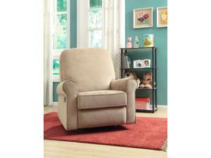 Ashewick Swivel/Glider Recliner - Crave Linen w/Line Piping