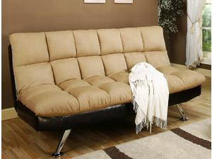 Klik Klak Sofa Sleeper with Tufted Stitching