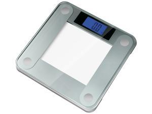 Ozeri Precision II Digital Bathroom Scale (440LB Edition) with Widescreen Blue Backlit Xbright LCD and StepOn Activation