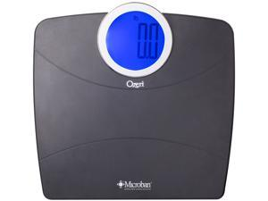 Ozeri WeightMaster ZB17-MB Digital Bathroom Scale with MICROBAN® Antimicrobial Protection