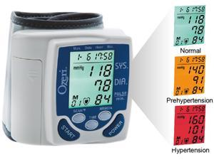 Ozeri CardioTech Premium Series BP2M Digital Blood Pressure Monitor with Color Alert Technology