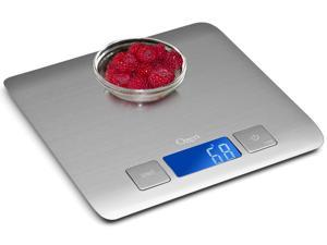 Ozeri Zenith ZK15 Professional Stainless Steel Digital Kitchen Scale