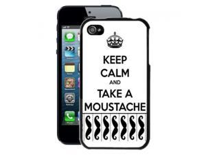 Keep Calm and Take Moustache iPhone 4/4S Case