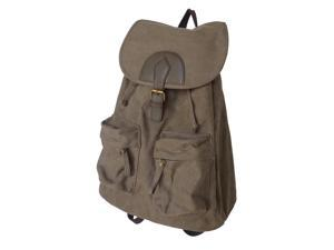 Otium 20228NKA Leisure Canvas Backpack - Military Khaki