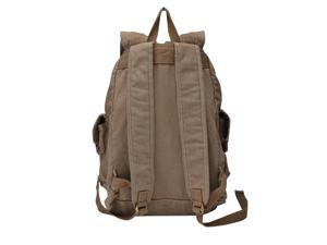 Gootium 21101CF Specially High Density Thick Canvas Backpack Rucksack (coffee)