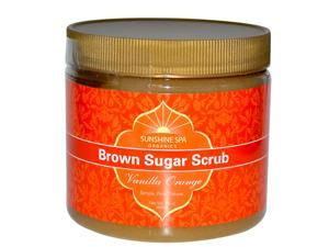 Herb Sugar Scrub-Vanilla Orange - Sunshine Spa - 16 oz -