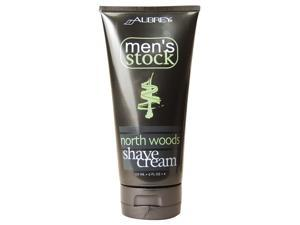 Aubrey Organics, Men's Stock, North Woods Shave Cream, 6 fl oz (177 ml)